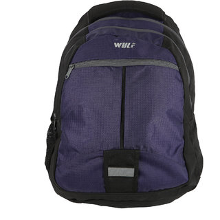 Wulf  Purple Polyester College Bags / Laptop Bags  Compartment 2 28 LTRS