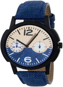 The Shopoholic Blue Analogue Dial Latest Fashionable Watch For Boys-Boys Watch