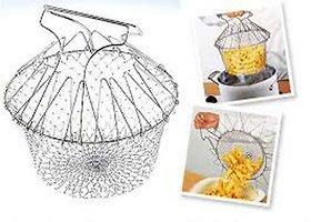 ROYALDEALSHOP Best Quality Chef Basket Cooker Strainer 12 in 1 Kitchen Tool Cooks Net