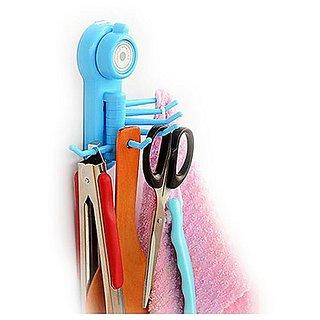 ROYALDEALSHOP Best Quality Hook Hanger Key Holder Multi Color Powerful Wall Sucker Vacuum Suction Cup