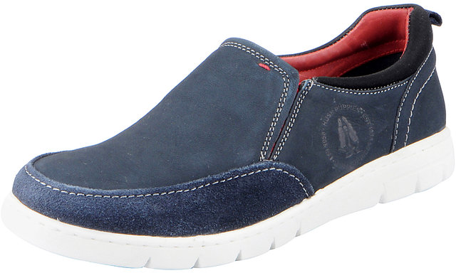 hush puppies blue casual shoes