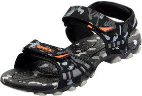 Sparx Men's Black Outdoor Sports Sandals