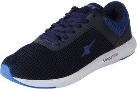 Sparx Men's Navy Blue Mesh Sports Running Shoes