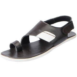 Fausto Men's Brown Outdoor Sandals