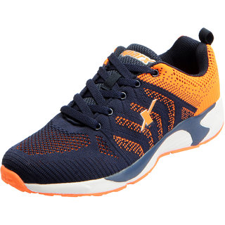 af705b8f60 Sparx Men's Navy Orange Mesh Sports Running Shoes