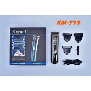 Kemei KM 719 Professional high quality advanced shaving syatem Cordless Grooming Kit for Men