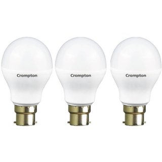 Crompton 12W + 5W LED Bulb (Pack of 3)