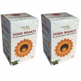 Nature Sure Mind Shakti Tablets with Natural Herbs  2 Packs (2 x 60 Tablets)