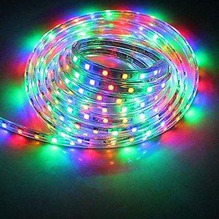 Glowtronix  LED Lighting LED Strip Light Flexible 98.4ft(30m) RGB SMD 5050 60LEDs/M Rope Lighting Band Strips  Home, Kitchen,Garden, Christmas, Bar Decoration