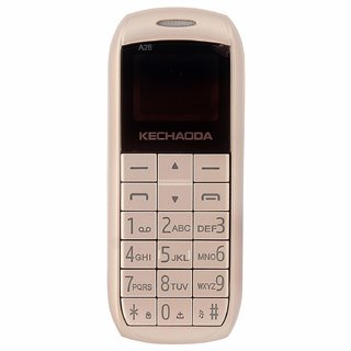 Kechaoda A26 Finger Sized Dual Sim Bluetooth Dialer Mobile