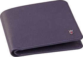 ALTON Men Blue Genuine Leather Wallet  (6 Card Slots)