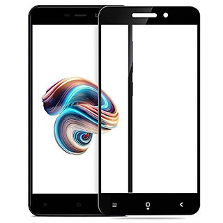 Imperium(TM) Edge to Edge Tempered Glass (Curved Arc Edges  9H Hardness) for Redmi 5A