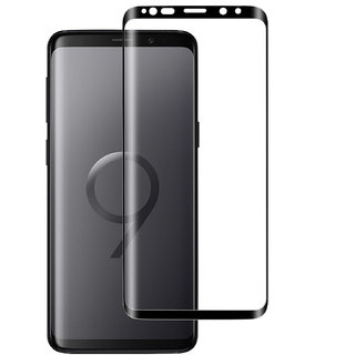 Imperium(TM) Edge to Edge Tempered Glass (Curved Arc Edges  9H Hardness) for Samsung Galaxy S9