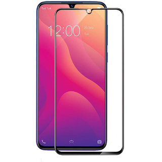 Imperium(TM) Edge to Edge Tempered Glass (Curved Arc Edges  9H Hardness) for Vivo Y95