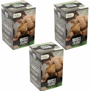 Nature Sure Muscle Charge Tablets for Men  3 Packs (3x60 Tablets)