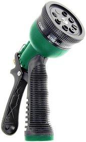 Car/Bike Washing Water Spray Gun 8 Pattern Brass Nozzle