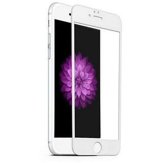 Wondrous(TM) Edge to Edge Tempered Glass (Curved Arc Edges  9H Hardness) for Iphone 6 Plus  Iphone 6S Plus