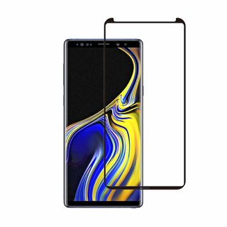 Wondrous(TM) Edge to Edge Tempered Glass (Curved Arc Edges  9H Hardness) for Samsung Galaxy Note 9