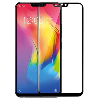 Wondrous(TM) Edge to Edge Tempered Glass (Curved Arc Edges  9H Hardness) for Vivo Y81