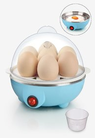 Premium Quality Electric Egg Boiler Poacher Stylish 7 Egg Boiled Cooker, ( Assorted Colors )