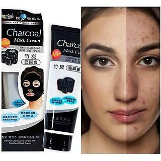 Buy Charcoal Face Mask Anti Blackhead For Men Women - Pack of 2 Online -  Get 81% Off