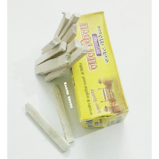 White Limestone Slate Pencils- (Pack of 25 Packets)