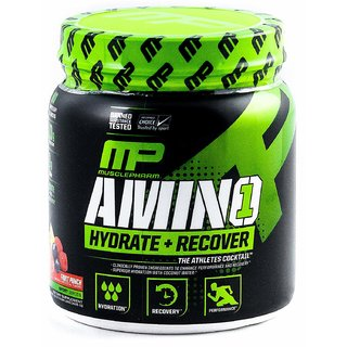 Muscle Pharm Amino 1 Hydration  Recovery Supplement - 0.94 lbs (Fruit Punch)