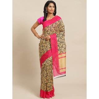 SVB Saree Multicolour Bhagalpuri Silk Saree