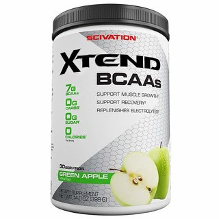 Scivation Xtend BCAAs 30 Servings, 398 gm (Green apple)