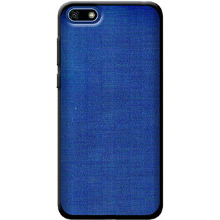 Cellmate Fashion Case And Cover For Huawei Y5 Prime (2018) - Blue