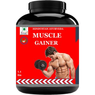 Hindustan Ayurveda Weight Gainer/Muscle Gainer Pack Of 1lb.