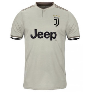 watch 0a57d a5609 Juventus football club polyester half sleeve gray colour 18/19 latest away  jersey