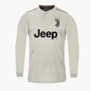 wholesale dealer 9b3c9 c17f3 Juventus polyester full sleeve grey colour 18/19 latest Ronaldo fan away  jersey