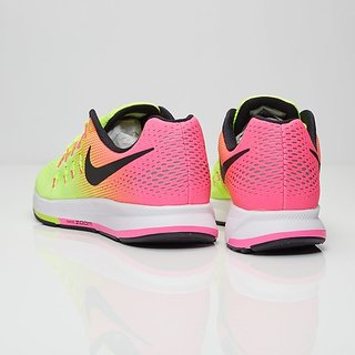 e936d2dded78 Buy Nike Air Zoom Pegasus 33 OC Fluorescent Green Running Shoes ...