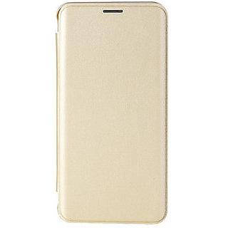 Motorola Moto G5 Plus Flip Cover- Golden