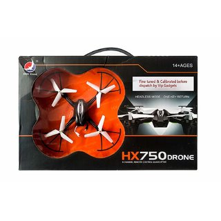 DY HX750 Drone Quadcopter (Without Camera) (Black)