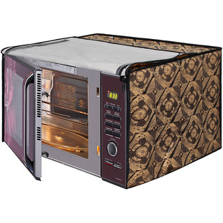 Dream Care Printed Microwave Oven Cover for LG 28 Litre Convection Microwave Oven MC2846BCT