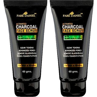 Park Daniel Deep Cleansing Combo pack of 2 tubes of 60 gms(120 gms) Scrub