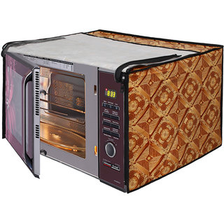 Dream Care Printed Microwave Oven Cover for LG 28 Litre Convection Microwave Oven MC2846BV