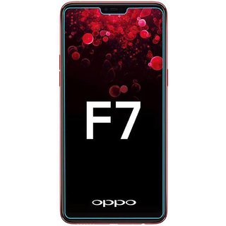 Oppo F7 Tempered Glass Standard Quality