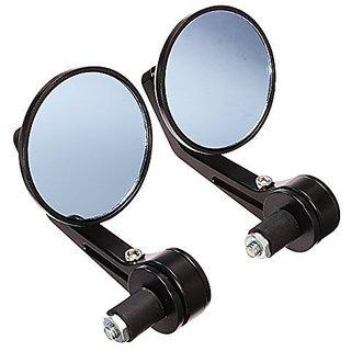 Handle Mirror Bar side ROUND for TVS Apache RTR, Royal Bullet Enfield Electra, Twinspark 350, Honda CB Hornet bike-04