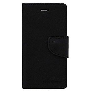 Mercury Goospery Fancy Diary Wallet Flip Cover for VIVO Y53 -Black
