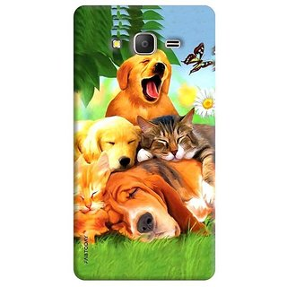 FABTODAY Back Cover for Samsung Galaxy J2 Ace - Design ID - 0046
