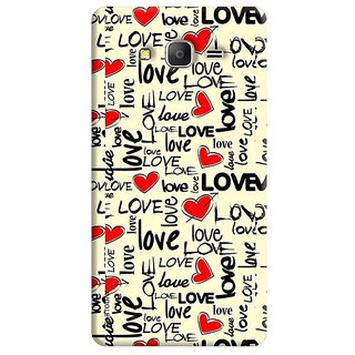 FABTODAY Back Cover for Samsung Galaxy J2 Ace - Design ID - 0051