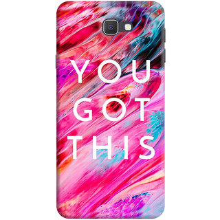 FABTODAY Back Cover for Samsung Galaxy On7 Prime - Design ID - 0901