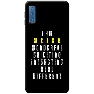 FABTODAY Back Cover for Samsung Galaxy A7 2018 - Design ID - 0009