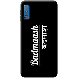 FABTODAY Back Cover for Samsung Galaxy A7 2018 - Design ID - 0010