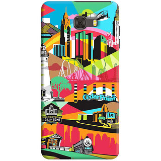 FABTODAY Back Cover for Samsung Galaxy C7 - Design ID - 0507