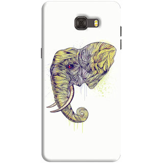 FABTODAY Back Cover for Samsung Galaxy C7 - Design ID - 0859