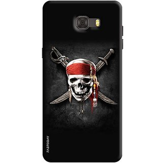 FABTODAY Back Cover for Samsung Galaxy C7 Pro - Design ID - 0105